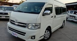 2014 – TOYOTA 2WD 2.5 MT COMMUTER WHITE – 0815