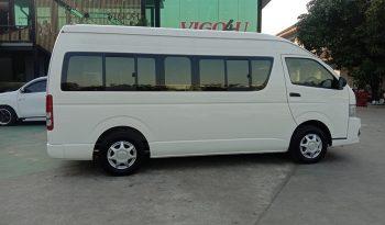 2014 – TOYOTA 2WD 2.5 MT COMMUTER WHITE – 0924 full
