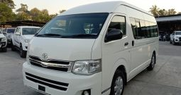 2014 – TOYOTA 2WD 3.0 MT COMMUTER WHITE – 1060