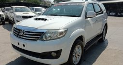 2014 – TOYOTA 2WD 2.5V AT FORTUNER WHITE – 569