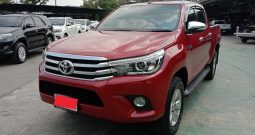 2015 – REVO 4WD 2.8G MT DOUBLE CAB RED – 703