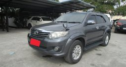 2012 – TOYOTA 2WD 2.7V AT FORTUNER DARK GREY – 3048