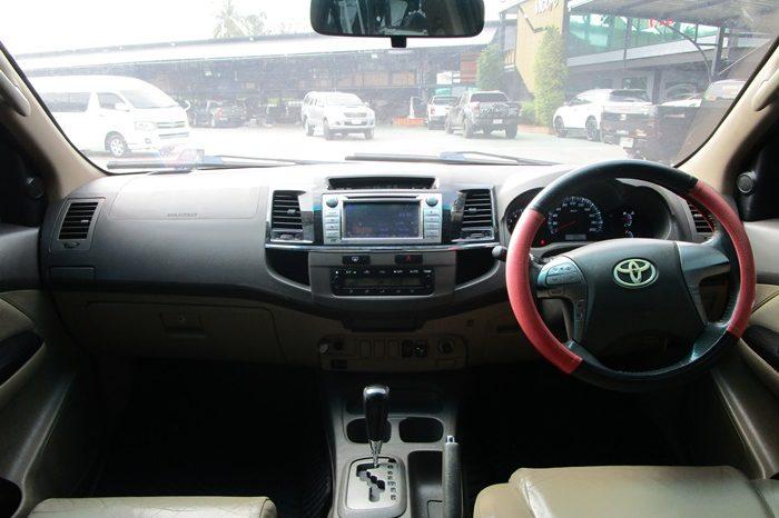 2012 – TOYOTA 2WD 2.7V AT FORTUNER DARK GREY – 3048 full
