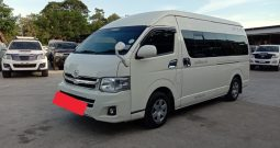 2014 – TOYOTA 2WD 2.5 MT COMMUTER WHITE – 7931