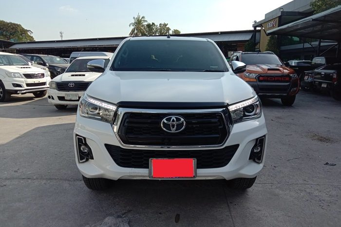 2018 – REVO 4WD 2.8G AT DOUBLE CAB WHITE – 8422 full
