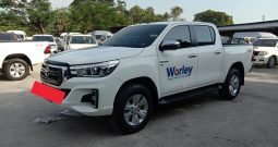 2018 – REVO 4WD 2.8G AT DOUBLE CAB WHITE – 8422