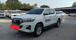 2018 – REVO 4WD 2.8G AT DOUBLE CAB WHITE – 8408