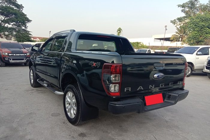 2015 – FORD 4WD 3.2 AT DOUBLE CAB BLACK – 4888 full