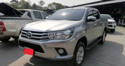 2016 – REVO 2WD 2.4E AT DOUBLE CAB SILVER – 1405