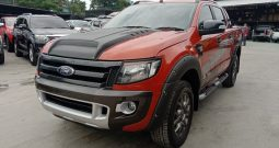 2015 – FORD 4WD 3.2 AT DOUBLE CAB ORANGE – 2996