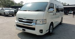 2014 – TOYOTA 2WD 2.5 MT COMMUTER WHITE – 4632