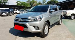 2017 – REVO 4WD 2.8G AT DOUBLE CAB SILVER – 5758