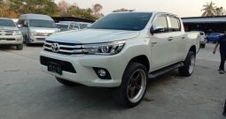 2017 – REVO 4WD 2.8G AT DOUBLE CAB WHITE – 6868