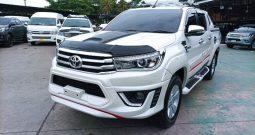 2016 – REVO 4WD 2.8G MT DOUBLE CAB WHITE – 8501