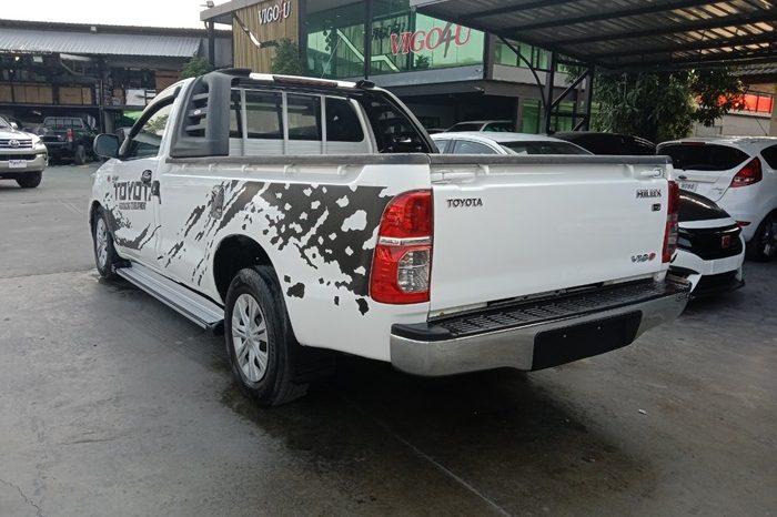 2014 – VIGO 2WD 2.5J MT STANDARD WHITE – 9062 full