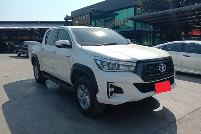 2017 – REVO 4WD 2.8G AT DOUBLE CAB WHITE – 7082 full