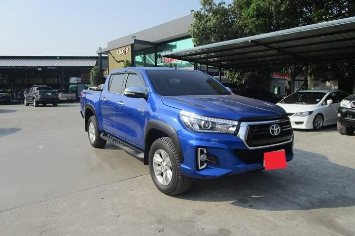 2016 – REVO 4WD 2.8G AT DOUBLE CAB BLUE – 7961 full