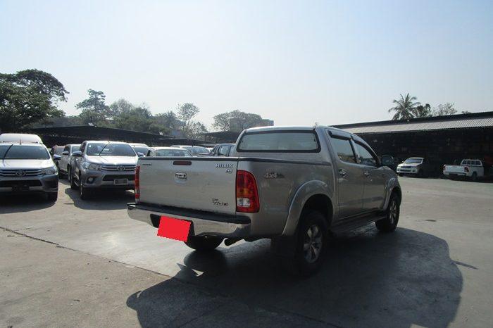 2008 – VIGO 4WD 2.5E MT DOUBLE CAB SILVER – 4305 full