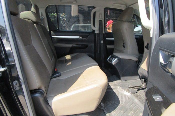 2017 – REVO 4WD 2.8G AT DOUBLE CAB BLACK – 6699 full