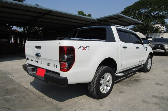 2014 – FORD 4WD 3.2 AT DOUBLE CAB WHITE – 9634 full
