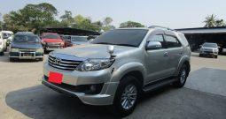 2014 – TOYOTA 2WD 2.7V AT FORTUNER SILVER – 2012