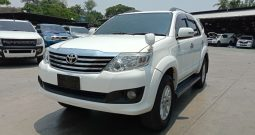 TOYOTA 2WD 2014 2.7V AT FORTUNER WHITE – 1490