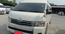 TOYOTA 2WD 2014 2.7 AT COMMUTER WHITE 3445
