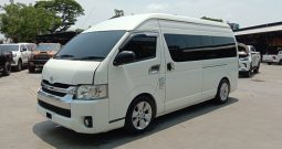 TOYOTA 2WD 2016 3.0 MT COMMUTER WHITE 0052