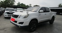 VIGO 2WD 2014 2.5E AT DOUBLE CAB WHITE 8738