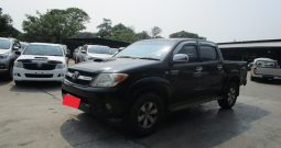 VIGO 4WD 2008 3.0G AT DOUBLE CAB BLACK 3306