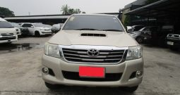 VIGO 2WD 2014 2.5E AT DOUBLE CAB GOLD 4668