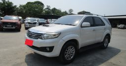 TOYOTA 4WD 2014 3.0V AT FORTUNER WHITE – 5903