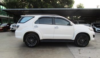 TOYOTA 4WD 2015 3.0V AT FORTUNER WHITE 7608 full