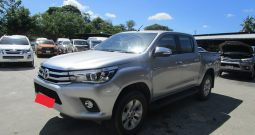 REVO 4WD 2016 2.8G AT DOUBLE CAB SILVER 8926