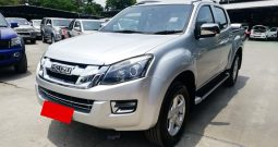ISUZU 2016 4WD 3.0 AT DOUBLE CAB SILVER 4282