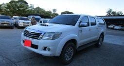 VIGO 4WD 2014 3.0G MT DOUBLE CAB WHITE 6042