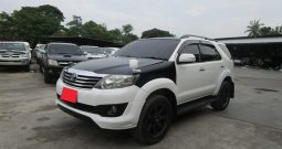 2014 – TOYOTA 2WD 2.7V AT FORTUNER WHITE – 1608