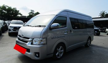 TOYOTA 2WD 2014 2.5 MT COMMUTER SILVER 0576 full