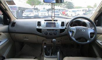 VIGO 4WD 2012 3.0G MT DOUBLE CAB BLACK 9555 full