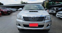 VIGO 4WD 2014 3.0G MT DOUBLE CAB SILVER 2635