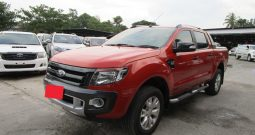 FORD 4WD 2014 3.2 AT DOUBLE CAB ORANGR 535