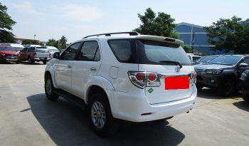 TOYOTA 2WD 2014 2.7V AT FORTUNER WHITE 2671 full