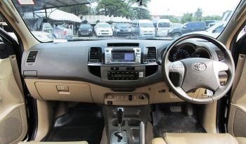 TOYOTA 2WD 2014 2.7V AT FORTUNER BLACK 3923 full