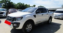 FORD 4WD 2014 3.2 AT DOUBLE CAB WHITE 344