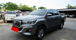 REVO 4WD 2018 2.8G AT DOUBLE CAB SILVER 4133