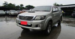 VIGO 4WD 2012 3.0G AT DOUBLE CAB SILVER 8773