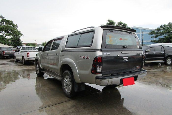 VIGO 4WD 2012 3.0G AT DOUBLE CAB SILVER 8773 full
