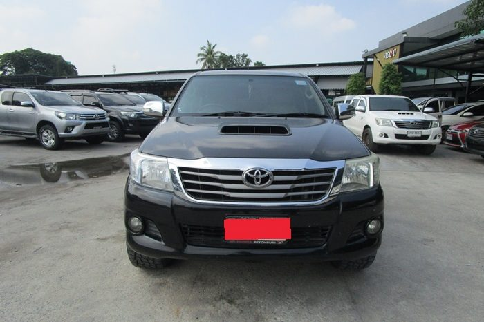 VIGO 4WD 2012 3.0G AT DOUBLE CAB BLACK 4665 full