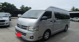 TOYOTA 2WD 2014 2.5 MT COMMUTER SILVER 8150