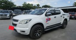 CHEVROLET 4WD 2014 2.8 AT DOUBLE CAB WHITE 6353